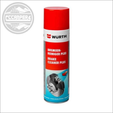 WURTH Brake Cleaner Plus Spray 500ml - CCCAMPERS