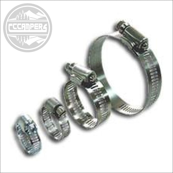 WURTH Hose Clamps clips from 10mm - 50mm - CCCAMPERS