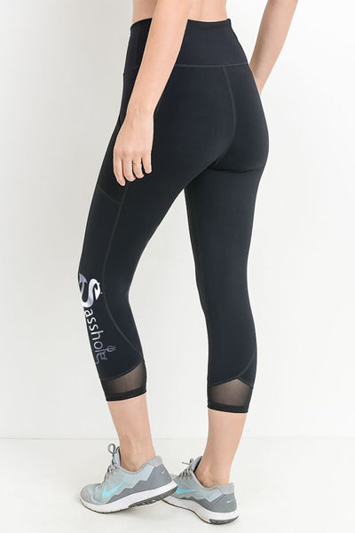 SASSHOLE® Activewear Leggings