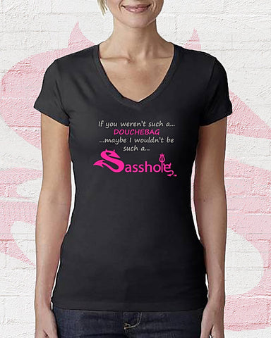 "Sasshole ""DOUCHEBAG"" T-Shirt"