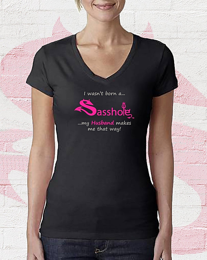 "SASSHOLE® ""HUSBAND"" T-Shirt"