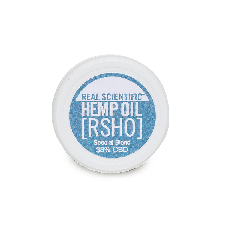 Real Scientific Hemp Oil - RSHO Special Blend 1g 380mg CBD - Single Jar, 6 Pack, 12 Pack