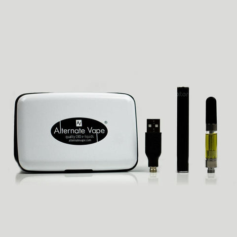 Alternate Vape CBD Vape Kit and/or Cartridge 250mg CBD