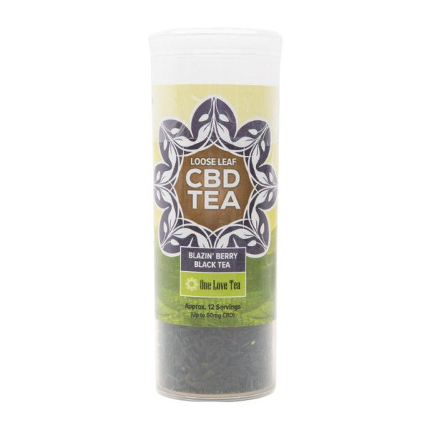 CBD Infused Tea - Blazen Berry