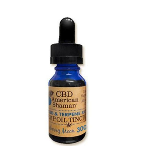 CBD American Shaman  - CBD & Terpene Rich Hemp Oil Tincture 300mg
