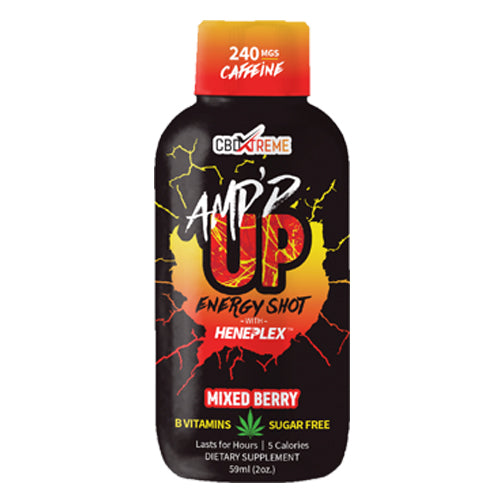 CBDXtreme AMP'D UP Energy Shot