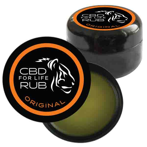 CBD For Life Pure CBD Rub - 120mg