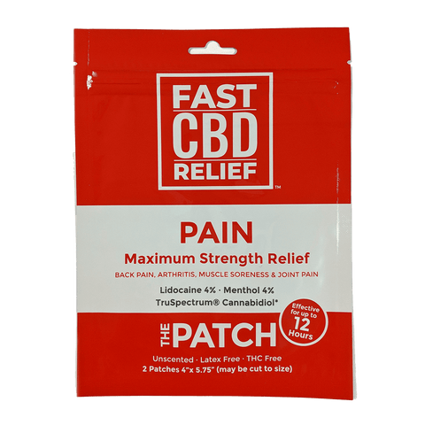 CBD Naturals Fast CBD Relief - The Patch