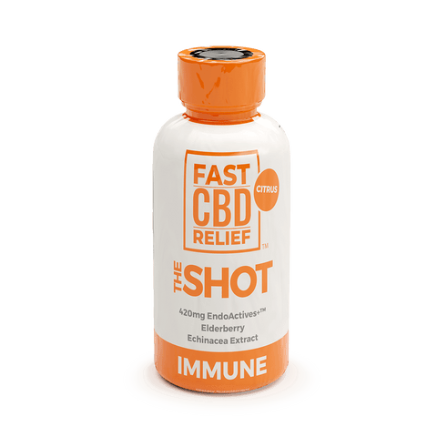 CBD Naturals Fast CBD Relief - The Shot