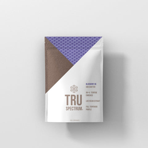 CBD Naturals TRU Spectrum Flavored Dab Shatter - 625mg and 1250mg