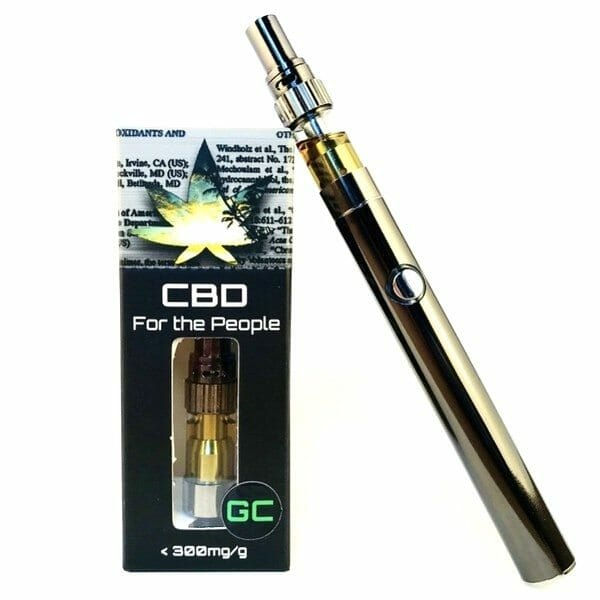 CBD For the People Uncut Wax Cartridges .5g 500mg or 1.0g 1000mg