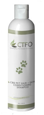 CTFO CBD Pet Conditioning Shampoo
