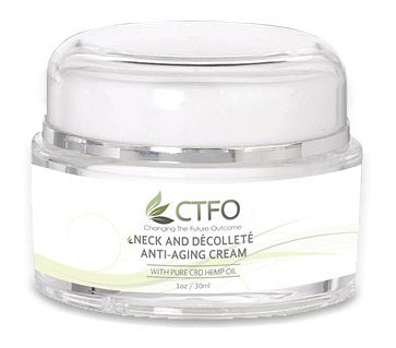 CTFO Pure Hemp CBD Neck & Décolleté Anti-Aging Cream - 20mg CBD