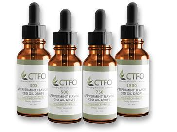 CTFO Pure Hemp CBD Oil Herbal Drops