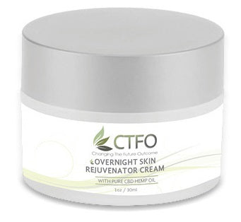 CTFO Pure Hemp CBD Overnight Skin Rejuvenator - 20mg CBD