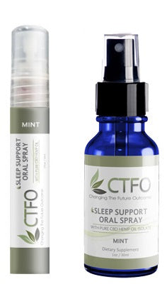 CTFO Pure Hemp CBD Sleep Support Oral Spray - 60 and 180mg CBD