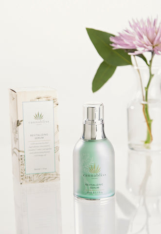 Cannabliss Organic Revitalizing Face Serum