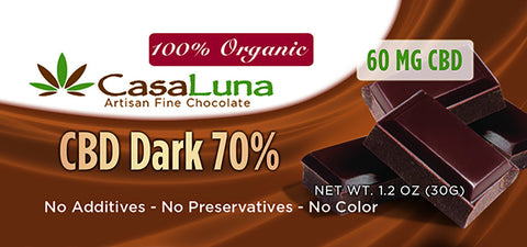 CasaLuna: Hemp Chocolate Bars