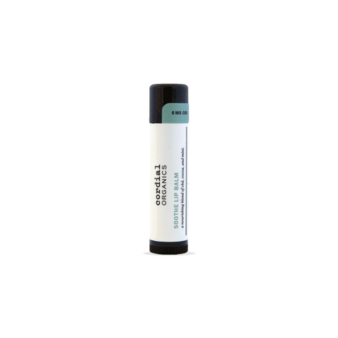 Cordial Organics Soothe Lip Balm - Cocoa and Mint - 5mg CBD