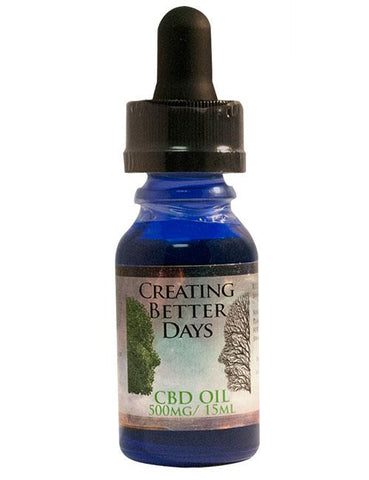 Creating Better Days Sublingual CBD Oil Tincture