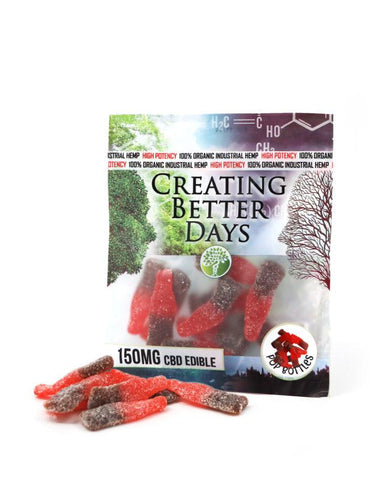 Creating Better Days CBD Pop Bottles Gummies