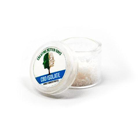 Creating Better Days CBD Isolate