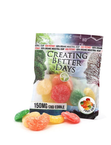 Creating Better Days CBD Mixed Fruit Gummies