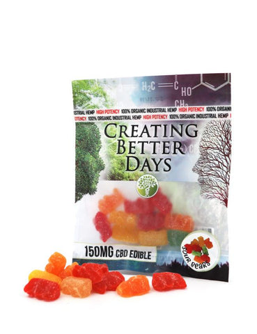 Creating Better Days CBD Sour Gummy Bears