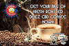 Deez CBD Coffee: 99.8% Water Soluble CBD Isolate Coffee