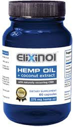 Elixinol CBD Hemp Oil Capsules  900mg of CBD