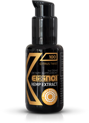 Elixinol Hemp Oil Liposomes Citrus Twist