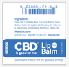 Image of Elixinol CBD Lip Balm