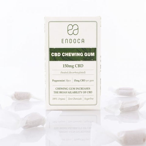 Endoca CBD Chewing Gum 150mg