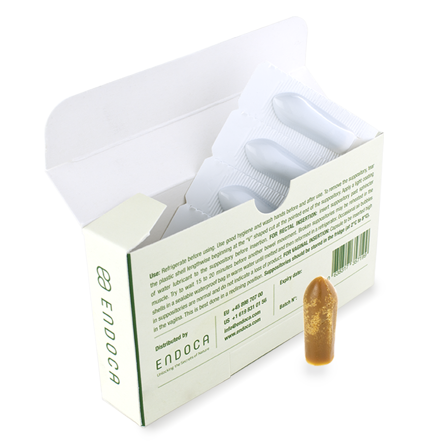 Endoca CBD Suppositories 500mg CBD