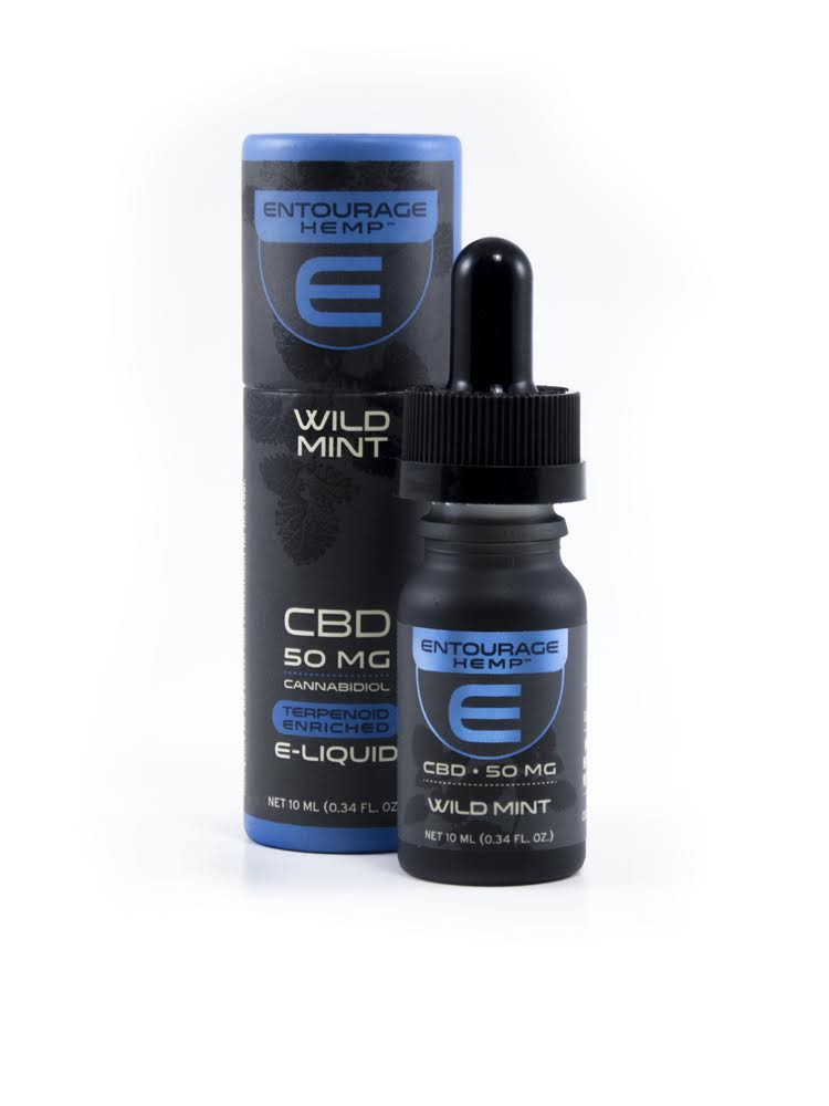 Entourage Hemp Vape Oil 10ml 50mg