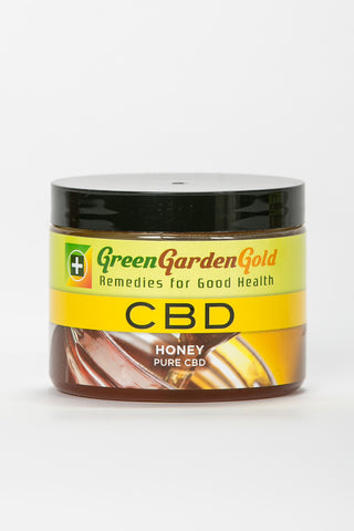 Green Garden Gold CBD 100% Pure Wildflower Honey