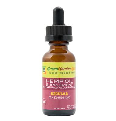 Green Garden Gold 1000mg Hemp Oil 30ml