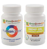 Image of Green Garden Gold HumanoFlow & Hemp Oil Capsules Bundle
