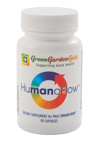 Green Garden Gold HumanoFlow Male or Female Capsules