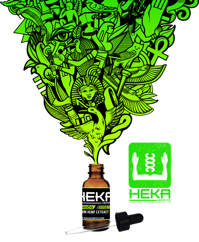 Heka Hemp Company Oral Tinctures