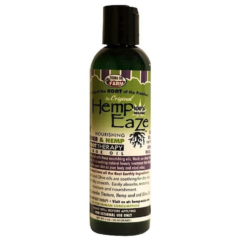 Hemp-EaZe Lavender & Hemp Root Nourishing Massage Oil