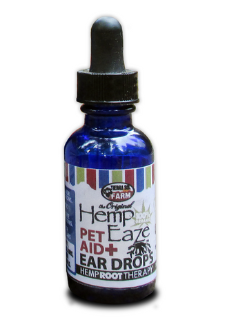 Hemp-EaZe PET AID Antiseptic Ear Cleansing Oil