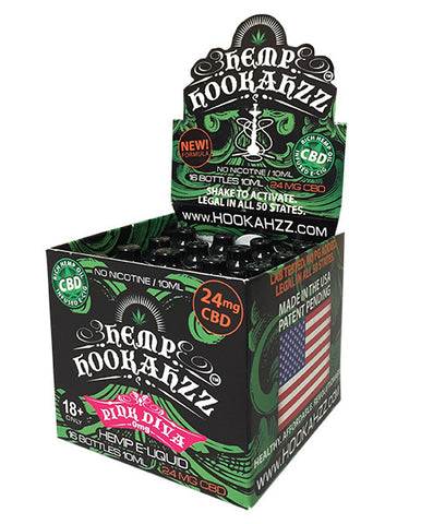 Hemp Hookahzz: 24mg CBD E-Liquid