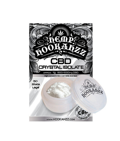 Hemp Hookahzz:  CBD Concentrate Isolate