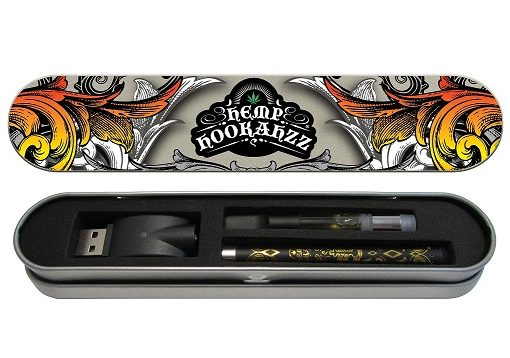 Hemp Hookahzz:  CBD Rechargeable E-Cig Kit 250mg
