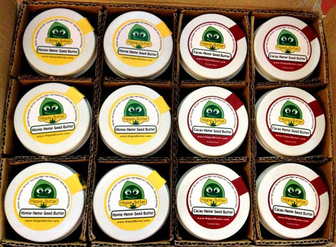 Hippie Butter Organic Hemp Seed Butter by the Case