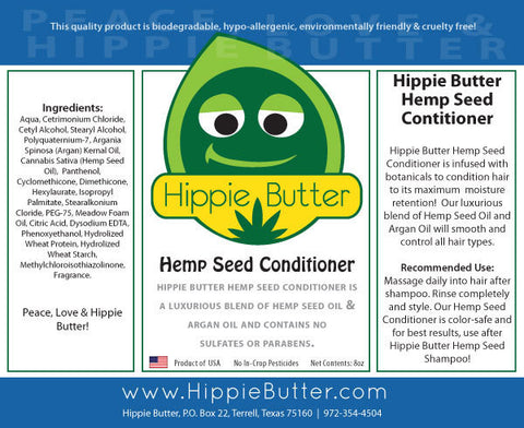 Hippie Butter Hemp Oil Conditioner by the Case