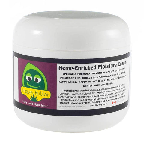 Hippie Butter Hemp Oil Moisturizing Body Cream