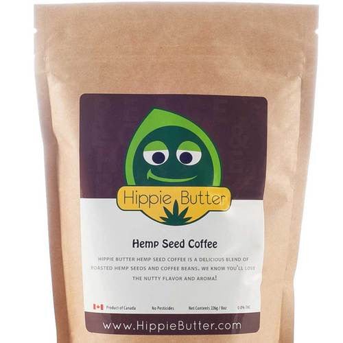 Hippie Butter Organic Hemp Seed Coffee by the Case