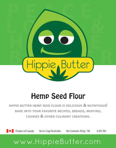 Hippie Butter Hemp Seed Flour by the Case